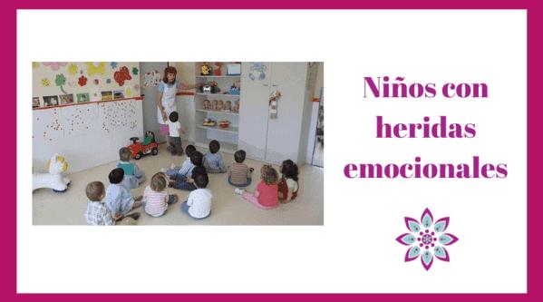 Niños con heridas emocionales