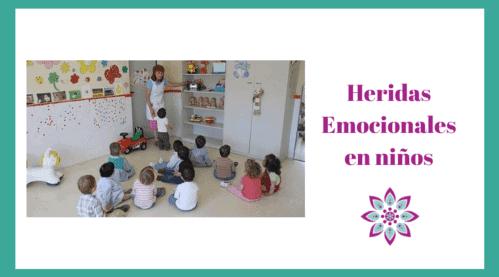 heridas emocionales en niños- Educadores