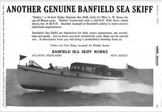 Subito Banfield Skiff