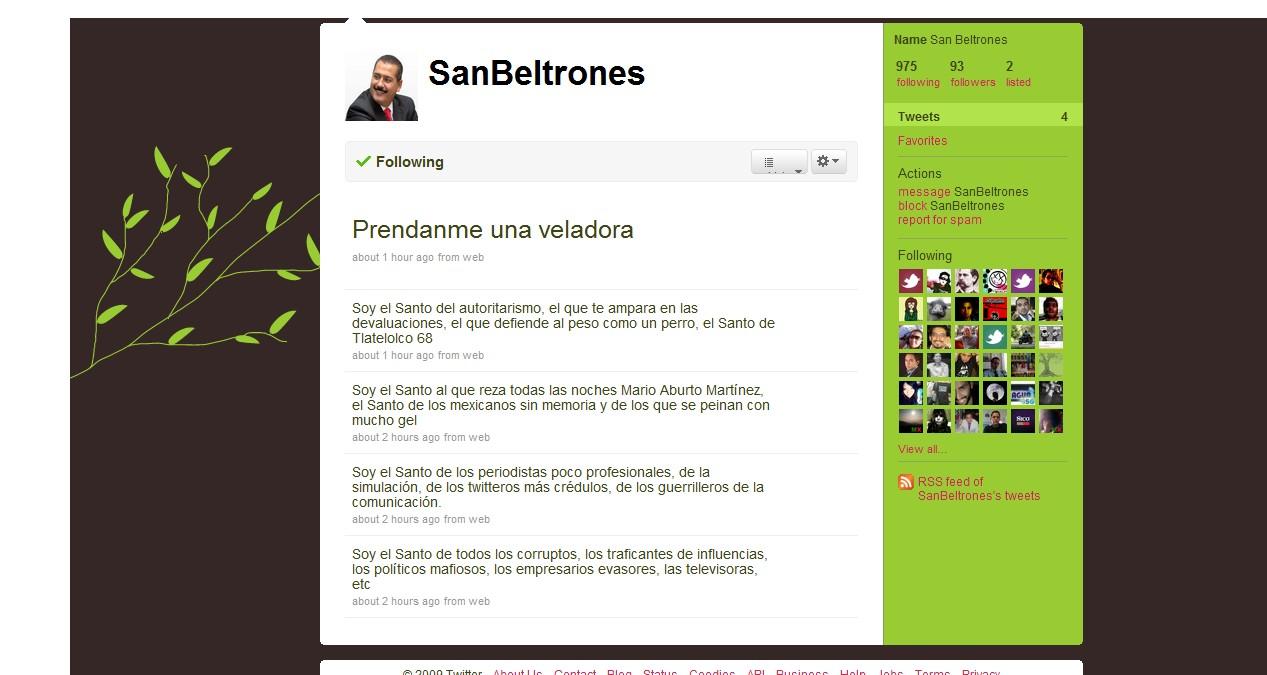 Twitter 20091105 - SanBeltrones