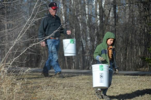 Gathering Buckets (2)