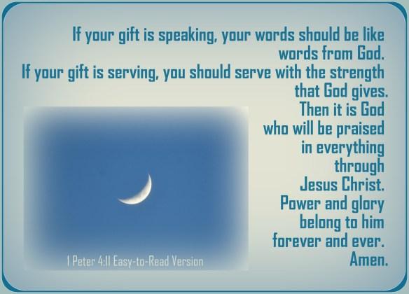 1 Peter 4-11
