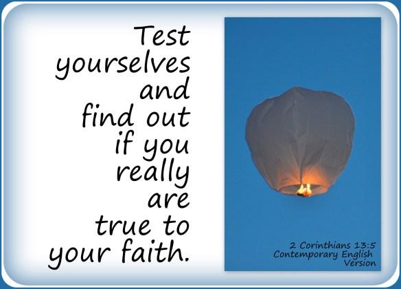 2 Corinthians 13-5