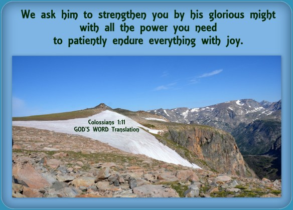 Colossians 1-11 God's Word Translation