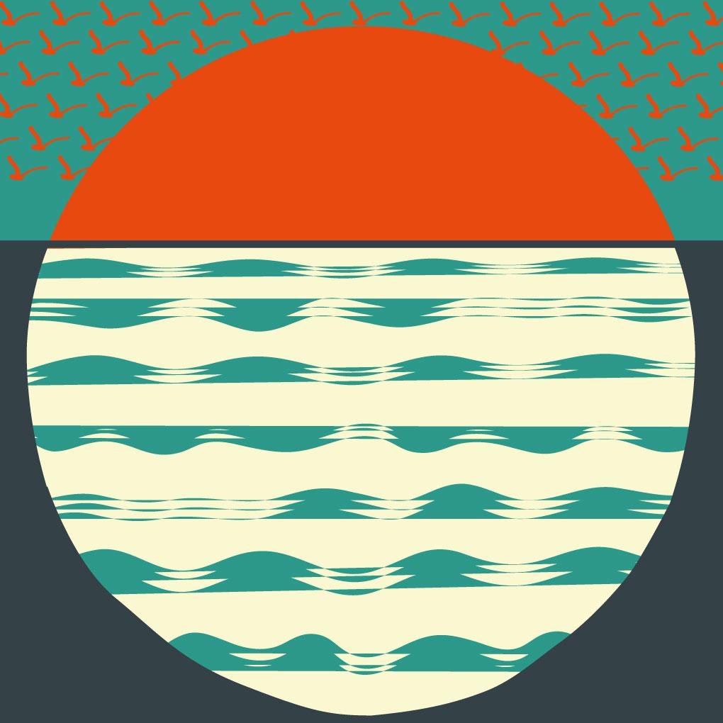 zwaluwen artwork Spinvis