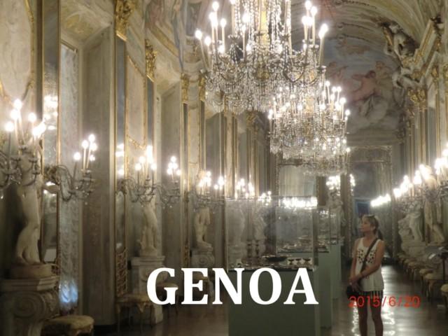Genoa, an Italy cruise ship stop on the Mediterranean