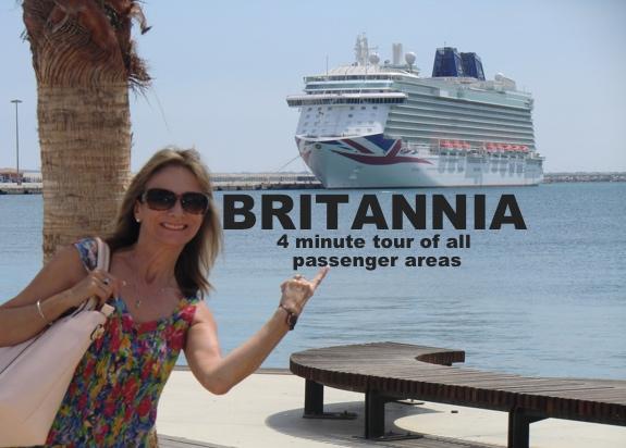 Jean's Passenger area tour of the Britannia – whole ship in fast 4min version