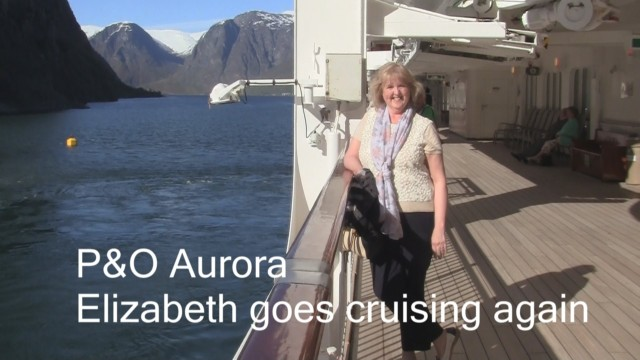 Elizabeth Goes Cruising on the Aurora for Doris Visits