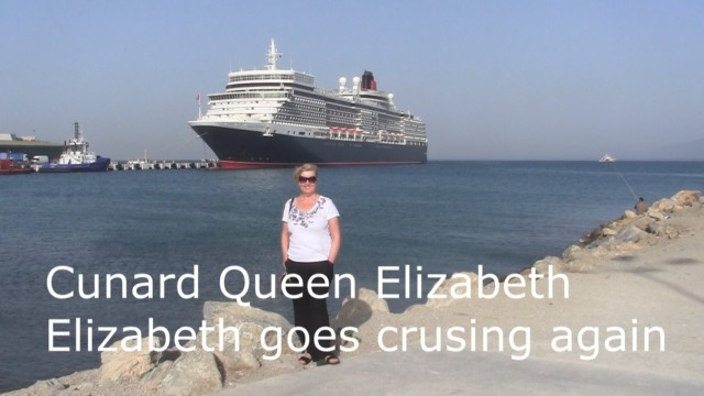 Cunard Queen Elizabeth – Elizabeth goes cruising again for Doris Visits