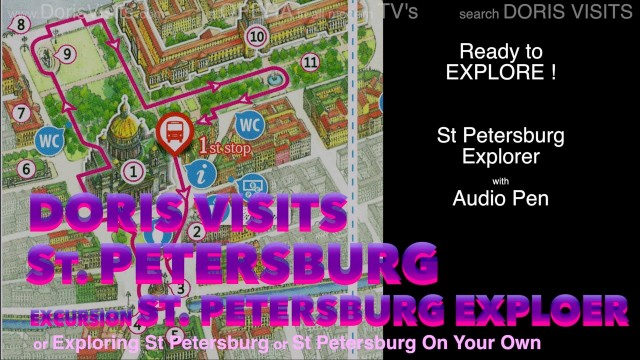 St Petersburg, Russia – Excursion; Explorer and Interactive Audio Pen