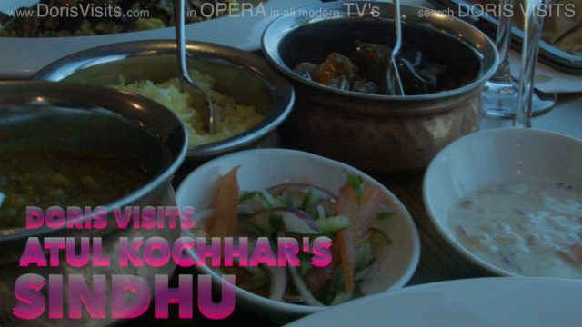 Sindhu restaurant is fine dining at sea
