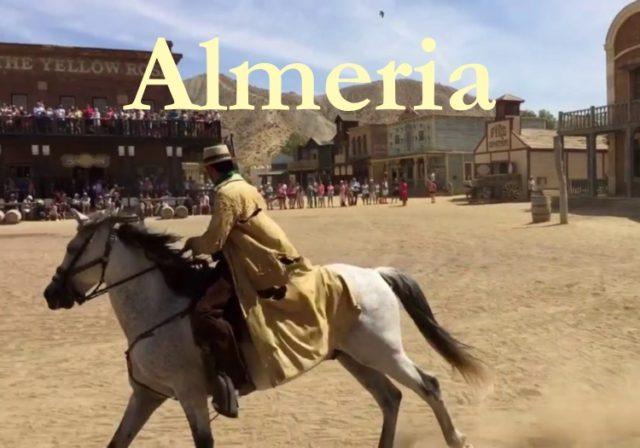 Almería Information, time to be a cowboy!