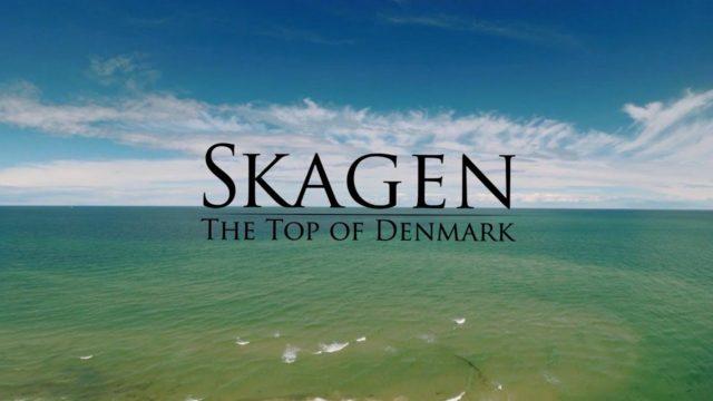Skagen, Denmark – DRONE film. Skagen seen from the sky