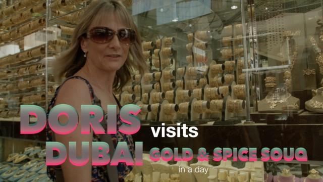 Dubai Gold and Spice Souk near the cruise terminal