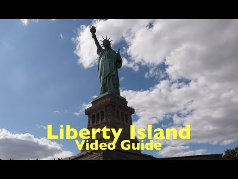 New York, Statue of Liberty and Liberty Island tour – Jean is there