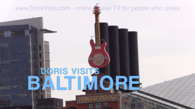 Baltimore Port Guide, Jean there for Doris Visits