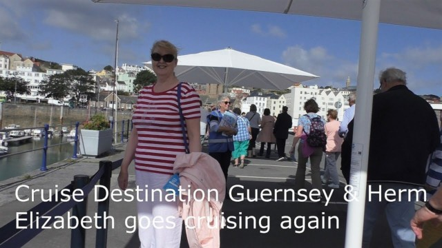 Adonialast time in Guernsey and the ferry to Herm Island – she is going