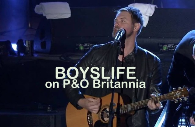 Boyslife at the Limelight on the Britannia – first class entertainment
