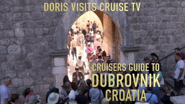 Cruisers guide to Dubrovnik, Croatia. Jean's video report for Doris Visits