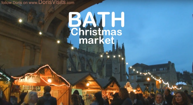 Bath, Christmas lights in the Roman City