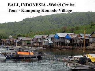 Bali, Indonesia – Tour to Kampung Komodo Village – we see dragons!