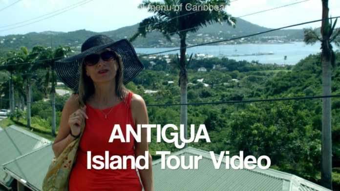 Antigua, Doris Visits the island in the Caribbean
