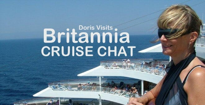 BRITANNIA: The real information base is you the cruisers – let's chat