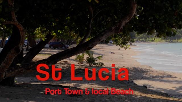 St Lucia, Port Castries Guide film – 10k views