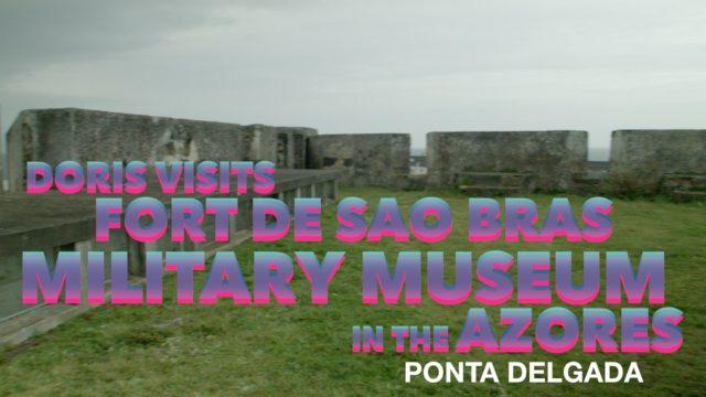 Ponta Delgada, Azores. São Brás Fort Military Fort and Museum