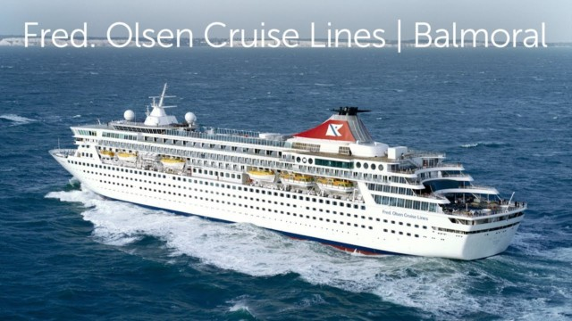 Balmoral, Fred Olsen Cruise lines