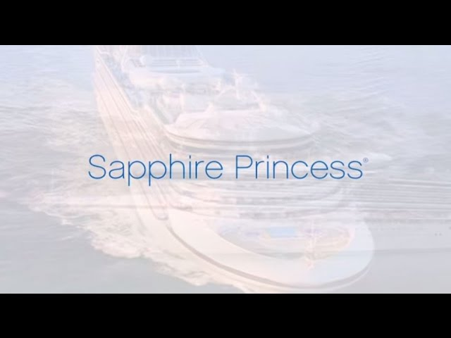 Sapphire Princess, a smaller Grand Class ship