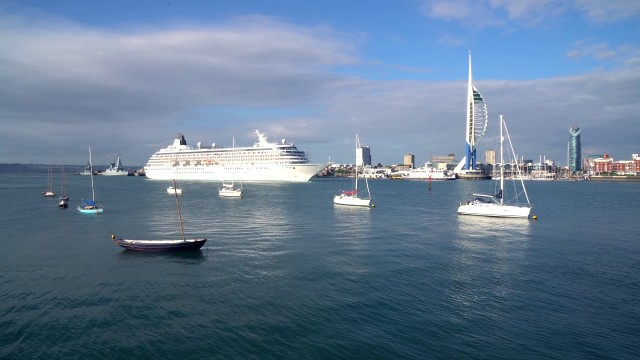 Portsmouth – a naval base or a cruise port?