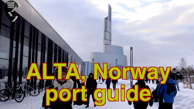 ALTA NORWAY. Guide – we did see the 'aurora borealis', those fighting atoms of energy!