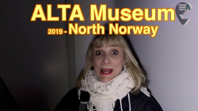 Alta, Norway. Alta Museum, rocks and carvings going back over 6000 years