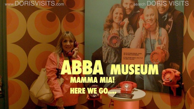 Stockholm, Abba Museum / Mamma Mia – here we go again, on a tour