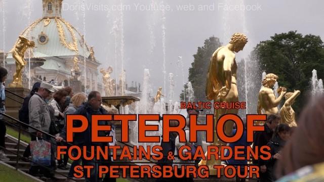 Peterhof Gardens and Fountains – St Petersburg, Russia