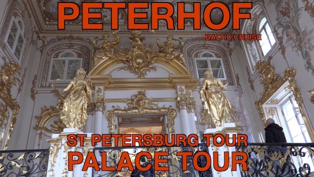 Peterhof Palace or Petrodvorets in St Petersburg – Tour