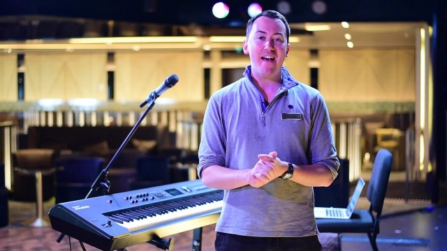 Adam Allinson – choir master extraordinaire on the oceans