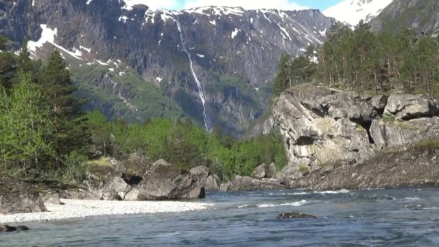 Andalsnes at the top of the Fjords