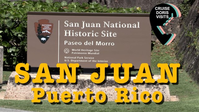 San Juan, Puerto Rico, Island tour with Jean Heard