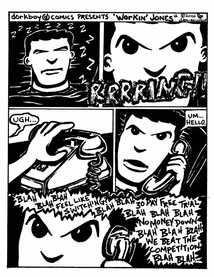 Workin' Jones – early caller p.1