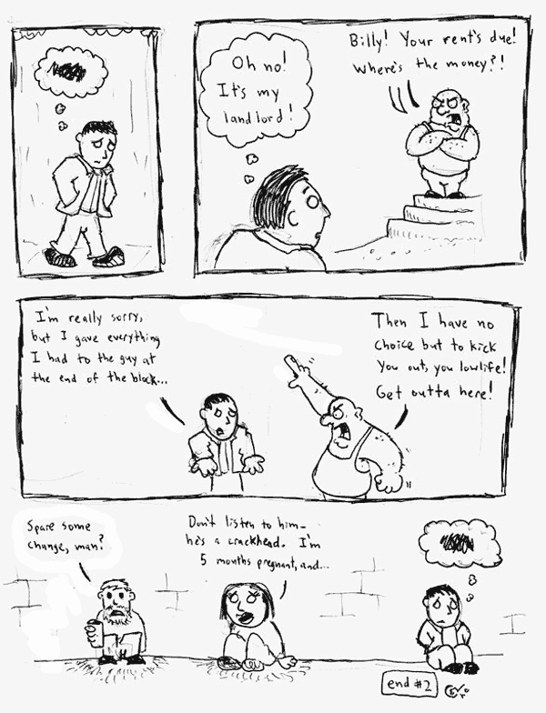 Comic Jam – Homeless p.2 – Conor