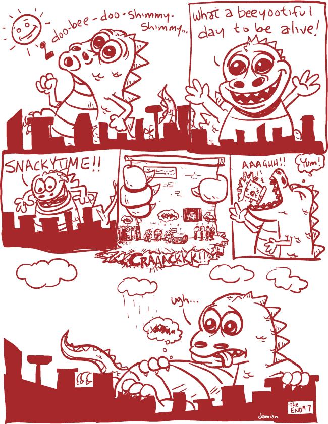 Comic Jam – Homeless p.7 – damian