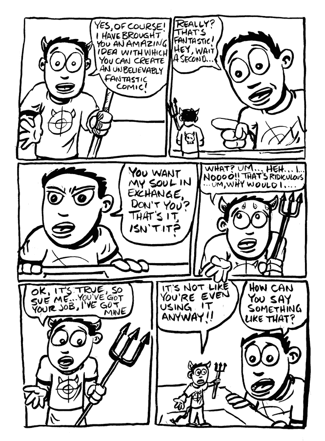 a day in the life… (24 hr comic) p.5