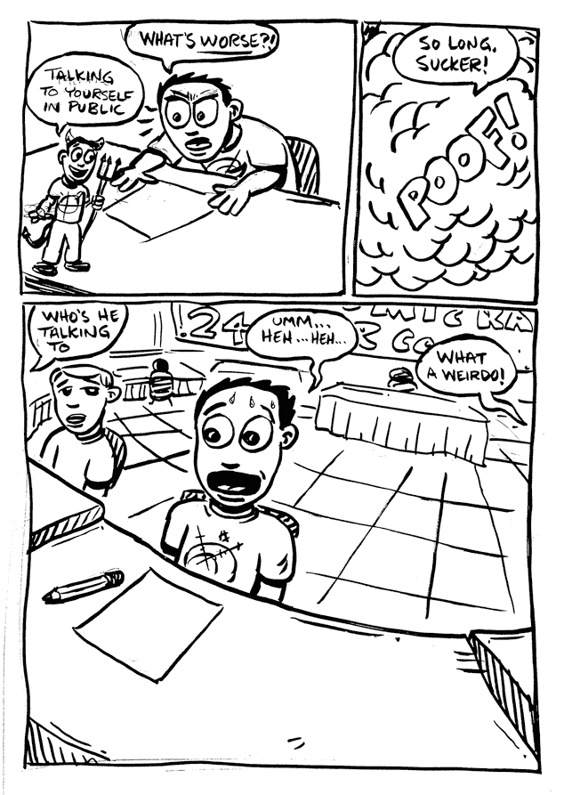 a day in the life… (24 hr comic) p.9