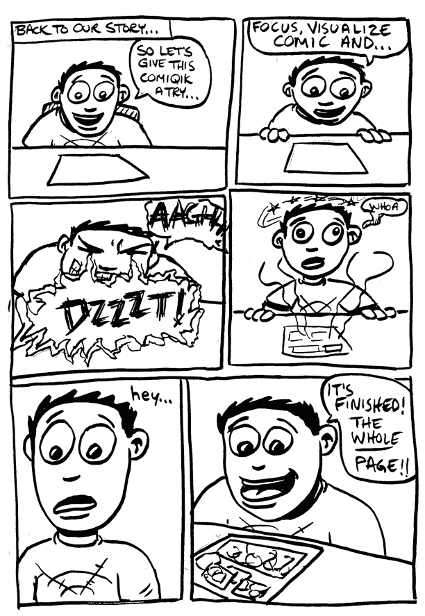 a day in the life… (24 hr comic) p.15