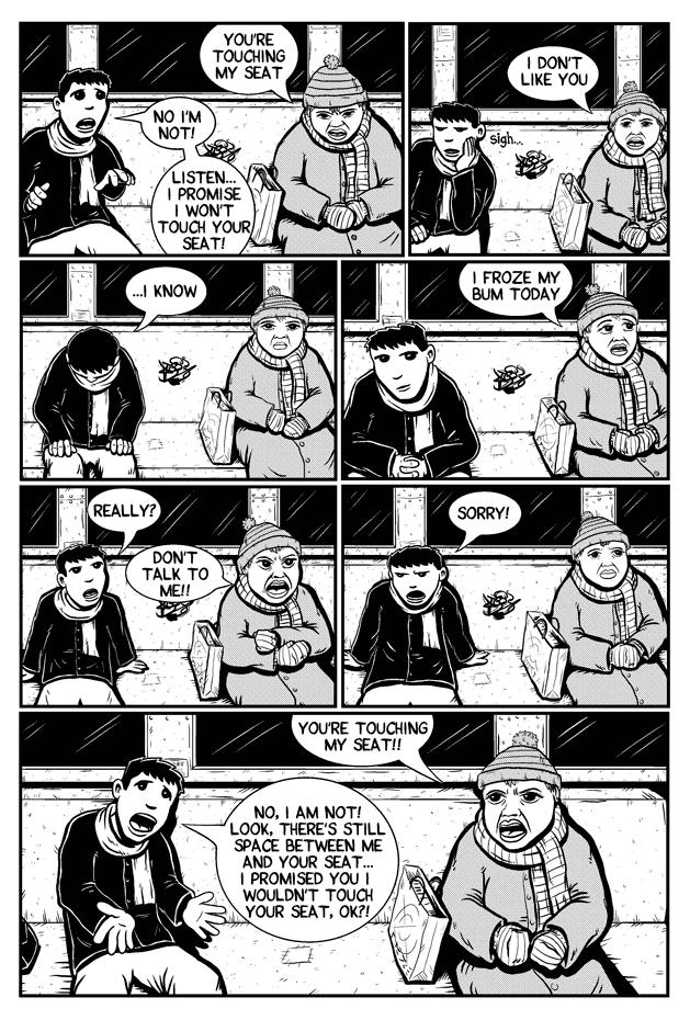 Workin Jones #2 – page four