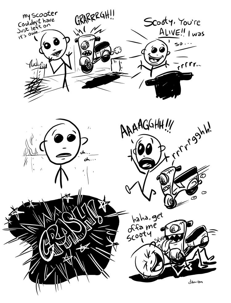 Scooterboy – Frankenscoot 3