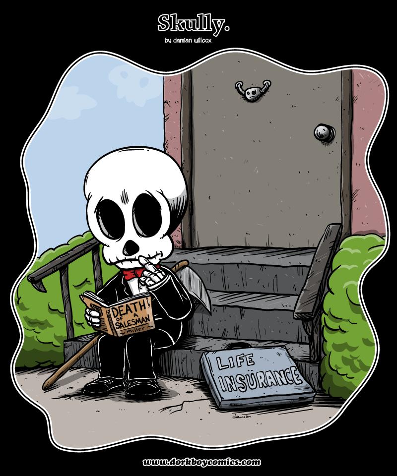 Skully – dead end job