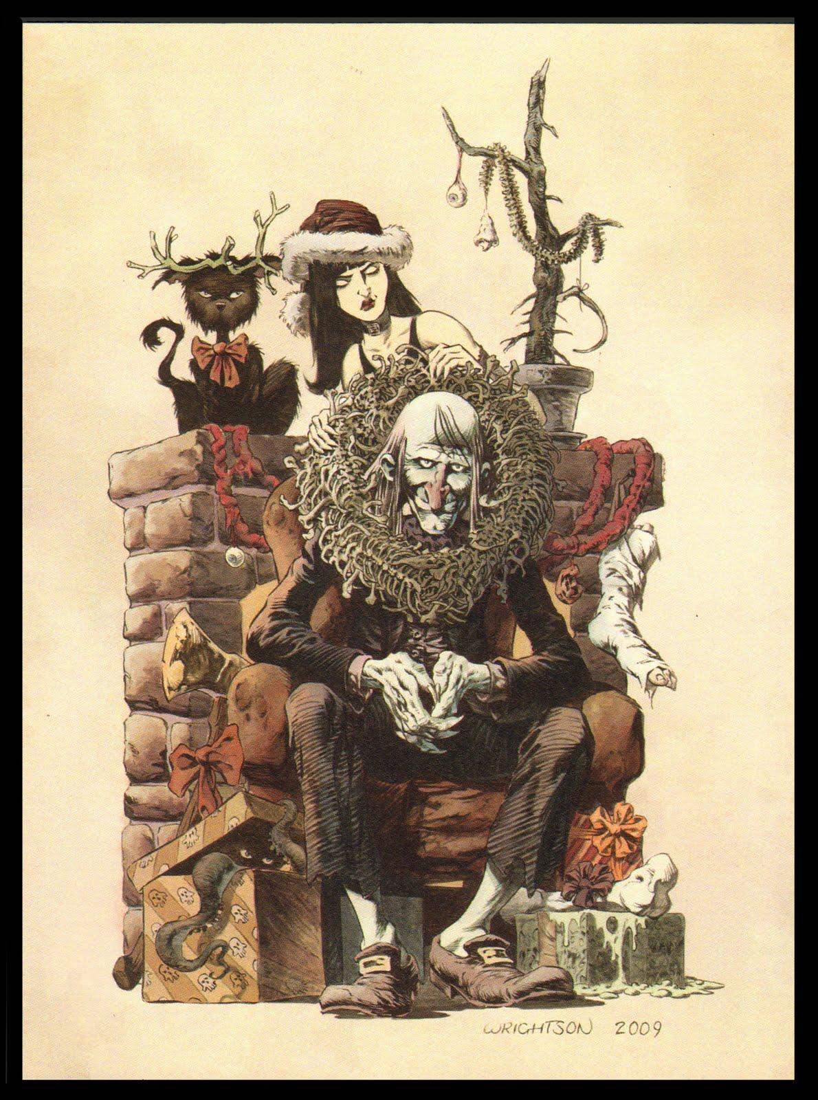 Creepy Christmas Dork Forty